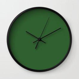 Mughal green Wall Clock