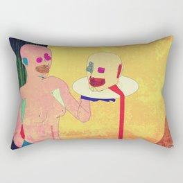 Salome's Transgression Rectangular Pillow