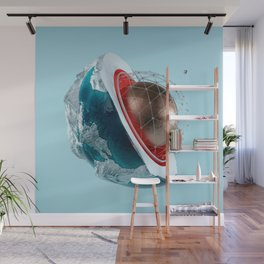 Planet Core Wall Mural