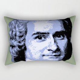 Jean-Jacques Rousseau Rectangular Pillow