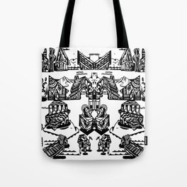 MAISONS Tote Bag