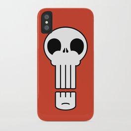 Long Skull iPhone Case