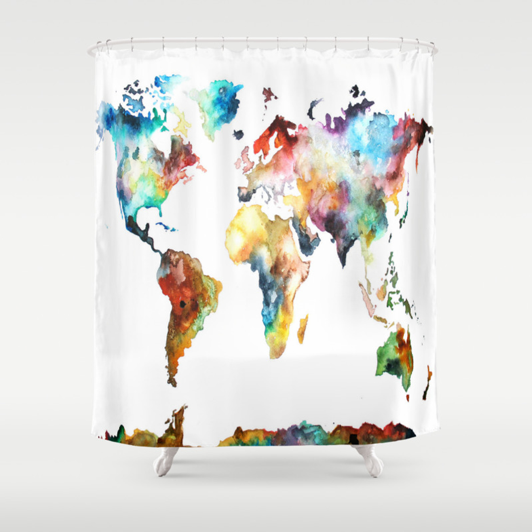 Architecture Landscape and Pattern Shower Curtains  Society6