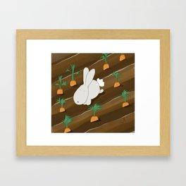 conejito Framed Art Print