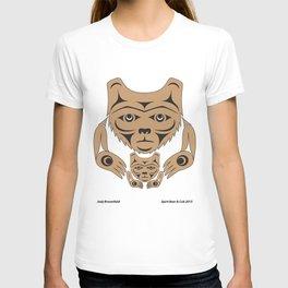 Spirit Bear & Cub by: Jody Broomfield T-shirt