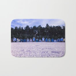 Norfolk Beach Huts Bath Mat