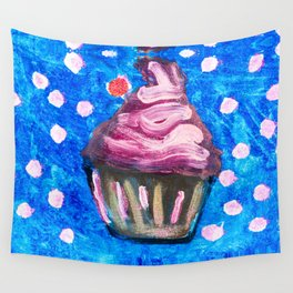 Sparkle CupCake Wall Tapestry
