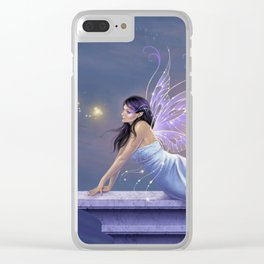 Twilight Shimmer Clear iPhone Case
