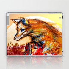 Fox in Sunset II Laptop & iPad Skin