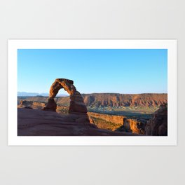 Delicate Arch II, Arches National Park, Utah Art Print