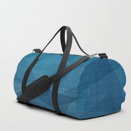 Imperial Blue Triangles Duffle Bag
