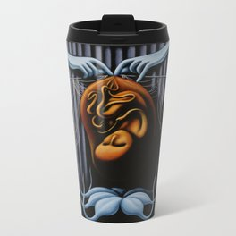 Comfort In The Unknown Metal Travel Mug