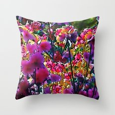 Amazing garden flowers 20 Throw Pillow