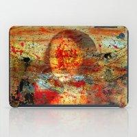 da vinci iPad Cases featuring Leonardo da Vinci Abstract  by  Agostino Lo Coco