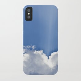 Clouds over Seaside iPhone Case