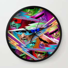 Punk For Life Wall Clock
