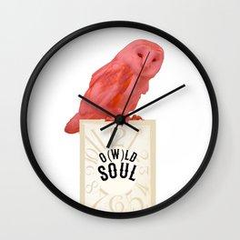 O(w)ld Soul Wall Clock