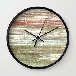 Rustic abstract Wall Clock