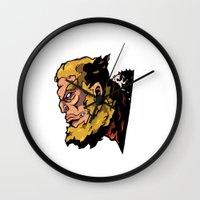 xmen Wall Clocks featuring x22 by jason st paul