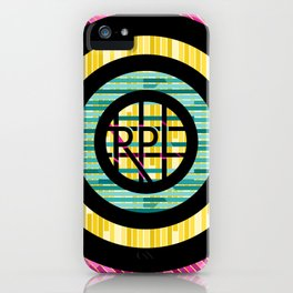 RPL letters iPhone Case