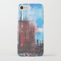 cityscape iPhone & iPod Cases featuring Cityscape by Alfred Raggatt