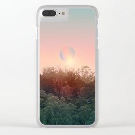 Landscape & gradients XXI Clear iPhone Case