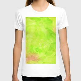 Through The Looking Glass Lime Green T-shirt