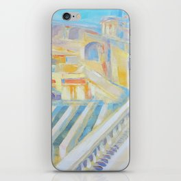 Assisi the city of peace by Diana Grigoryeva iPhone Skin
