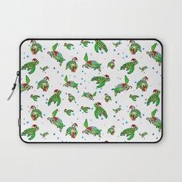 Holiday Sea Turtles Laptop Sleeve