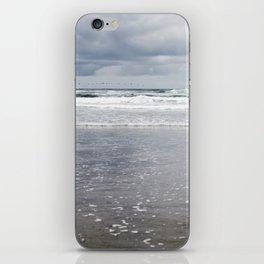 Cloudy Ocean Waves iPhone Skin