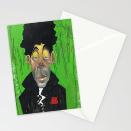 Dude in d' woodz Stationery Cards