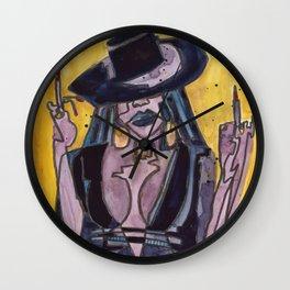The Queen B Wall Clock