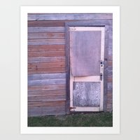 from the outside Art Print