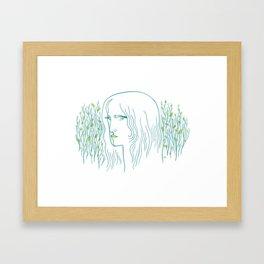 Woods Woman 1 Framed Art Print