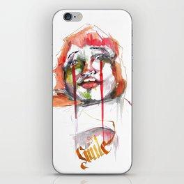 Smile iPhone Skin