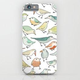 birds outside my window iPhone Case