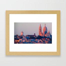 Sacré-Coeur from D'Orsay Framed Art Print