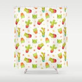 Catcus Shower Curtain