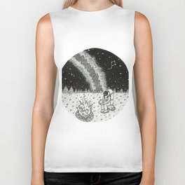 Camping in the Cosmos Biker Tank
