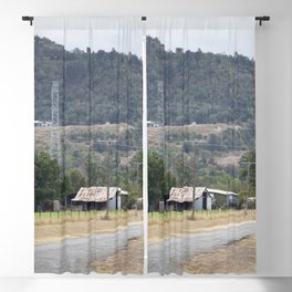 Old Country road Blackout Curtain