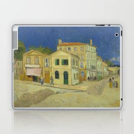 The Yellow House by Vincent van Gogh Laptop & iPad Skin