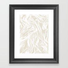Marbled Nude Framed Art Print