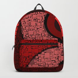 red blocks Backpack