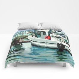 Dock on the Bay Comforters