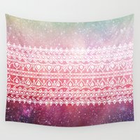bohemian Wall Tapestries featuring Bohemian Highway by Jenndalyn