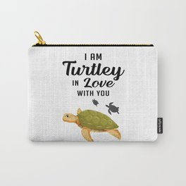Turtle Sea Turtles Ocean Sealife Cute Animal Gift Carry-All Pouch