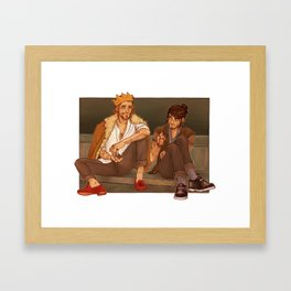 Fee and Kee Fashion Week Framed Art Print
