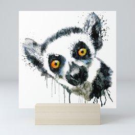 Lemur Head Mini Art Print