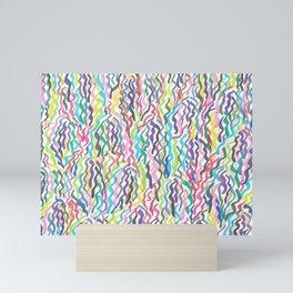 Rainbow Sea Weed Mini Art Print