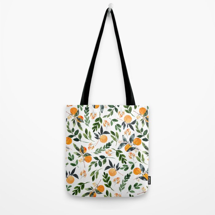 Orange Grove Tote Bag